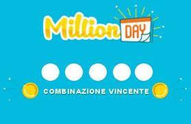 Estrazione Million Day 25 gennaio 2021: i numeri vincenti di lunedì
