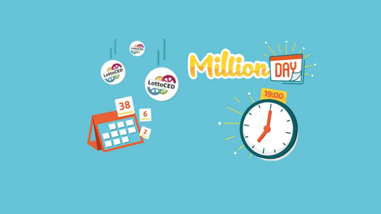 Estrazione Million Day 28/06/2021: i numeri vincenti di lunedì