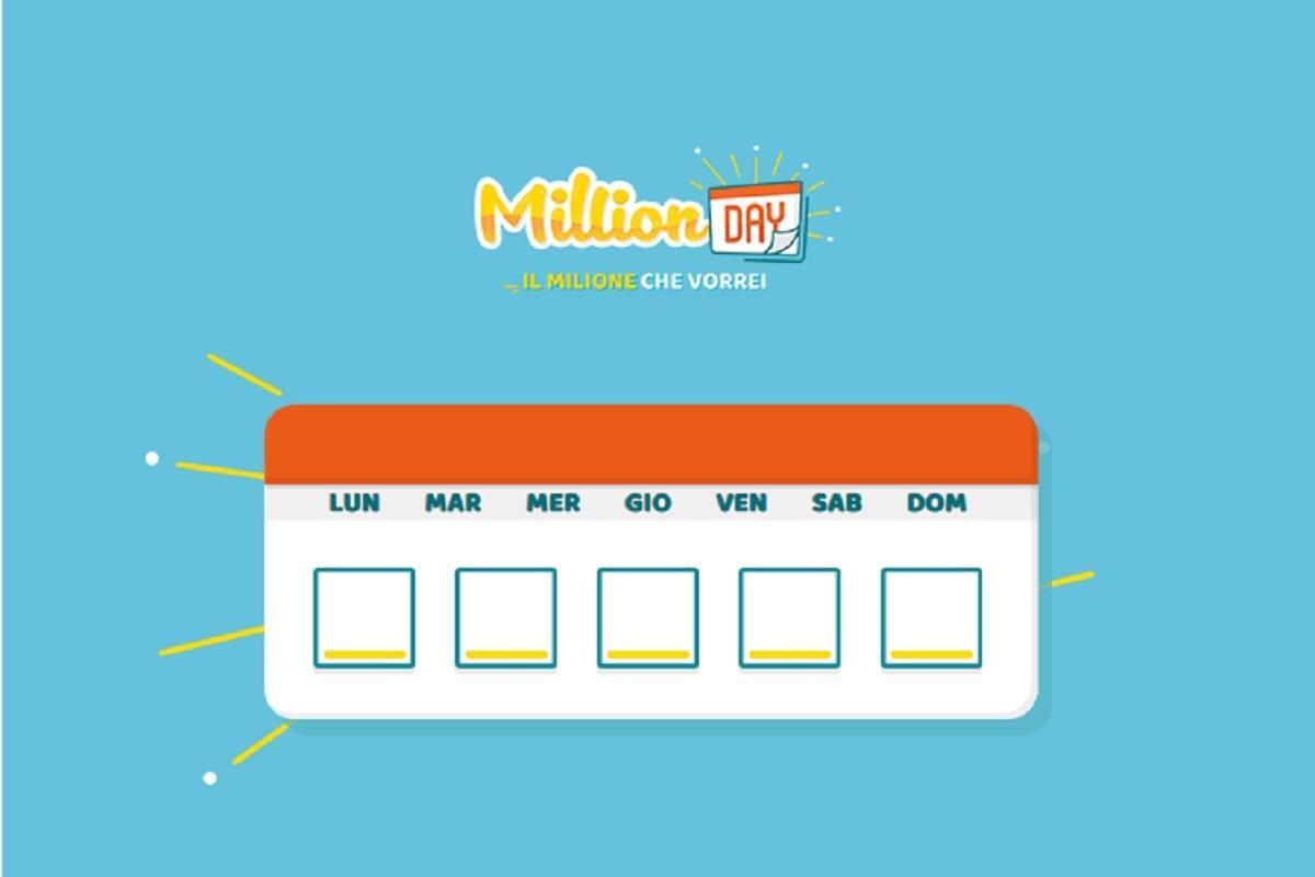 Estrazione Million Day 26/07/2022: i numeri vincenti di lunedì